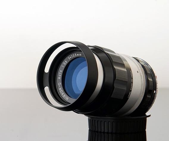 Lente Nikkor Q 135mm F3.5 + Adaptador Canon Ef \ Leia Tudo