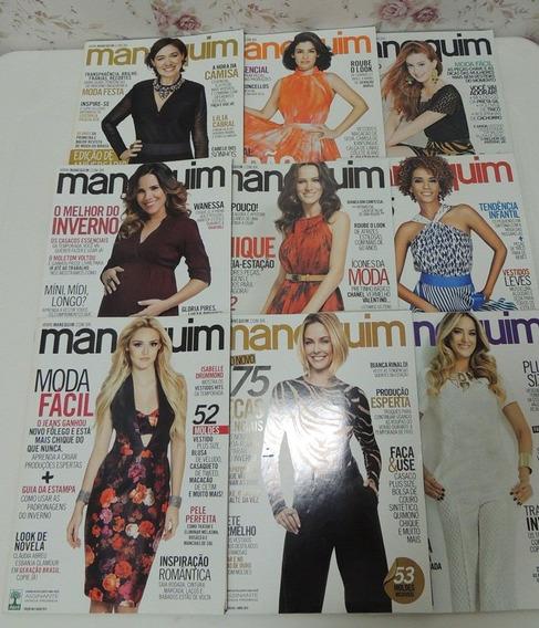 9 Revistas De Moda Manequim - Com Moldes
