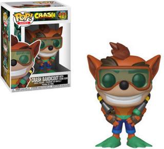 Funko Pop Crash Bandicoot Crash W/ Scuba