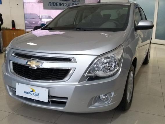 Chevrolet Cobalt 1.4 Ltz 2015 Prata Flex