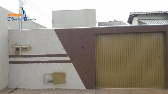 Casa Com 2 Dormitórios À Venda, 81 M² Por R$ 132.000,00 - Residencial Monte Sinai - Anápolis/go - Ca0843