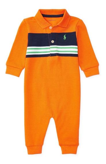 Body Polo Ralph Lauren Original - Tamanho 6m Roupa De Bebê