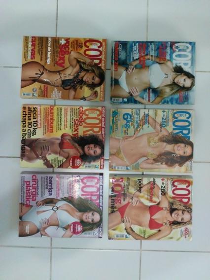 Revista Corpo A Corpo Extra 3 Edições Encadernadas Preço Uni