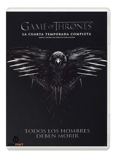 Juego De Tronos Game Of Thrones Cuarta Temporada 4 Dvd