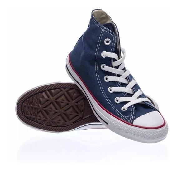 Zapatillas Converse All Star De Niño Chuck Taylor Hi Azules