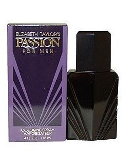 Perfume Passion De Elizabeth Taylor Hombre 118 Ml Eau De Cologne Nuevo Original
