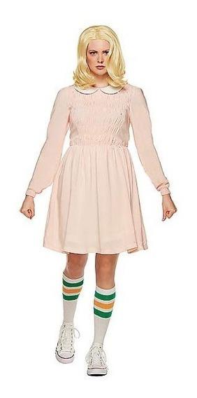 Disfraz Adulto Eleven Stranger Things Vestido Mujer De Lujo