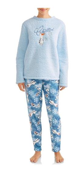 Set Pijama Disney Frozen2 Azul Niña /c4