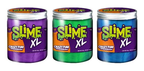 Juego Slime Jumbo Grande - En Pote De 350 Grs