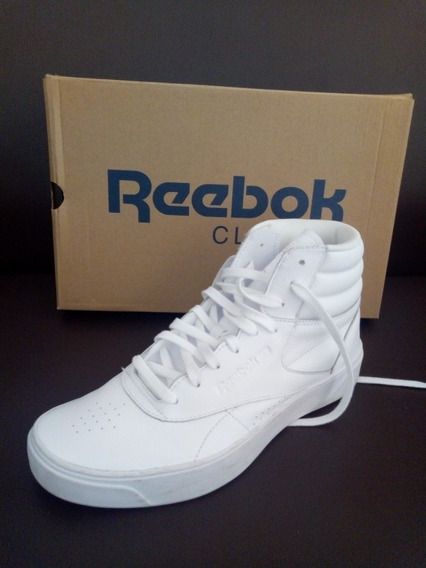 Bota Blanca Reebok Freestyle High Usada 39/40