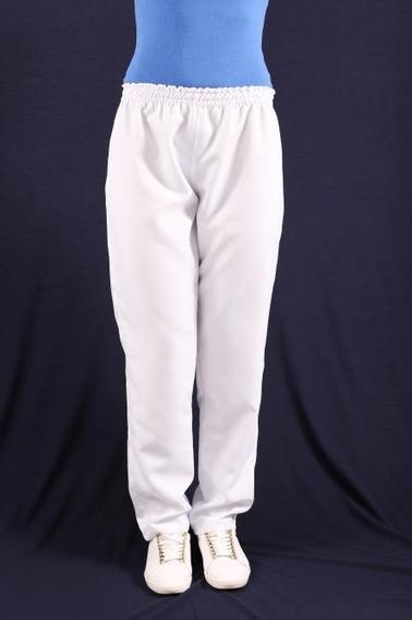 Calça Feminina De Tecido Brim 100% Algodão