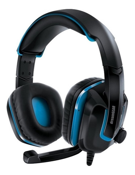 Fone Headset Dreamgear Grx-440 Gaming Ps4 - Preto/azul