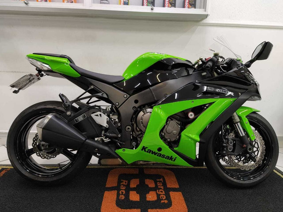 Kawasaki Ninja Zx10r Preto 2012 - Target Race