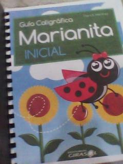 Guía Caligráfica Marianita Inicial