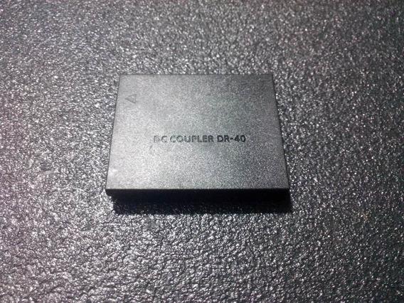 5x Bateria Falsa Dc Dr-40 (câmeras Canon - Bateria Nb-6lh)