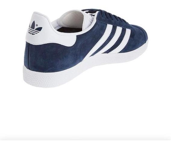 Tenis Zapatilla adidas Gazelle Azul Navy Clasic Hombre Origi