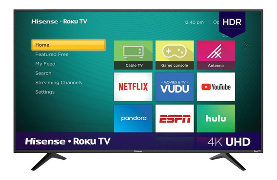 "Smart TV Hisense R6E Series 4K 58"" 58R6E"