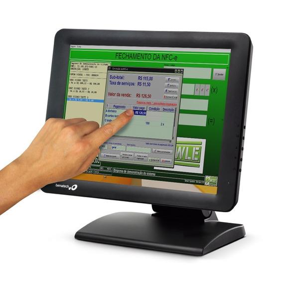 Monitor Touch Screen Tela De Toque - Tm-15 Bematech + Nf