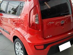 Kia Soul 1.6 Ex 16v Flex 4p Manua 2012 Cor Vermelha
