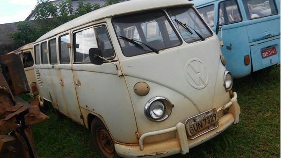 Volkswagen Kombi Corujinha Bus P/ Restaurar Entrego Dock Ok