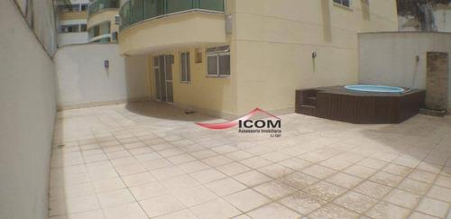 Imagem 1 de 22 de Apartamento Duplex Para Alugar, 180 M² Por R$ 9.600,00/mês - Botafogo - Rio De Janeiro/rj - Ad0071