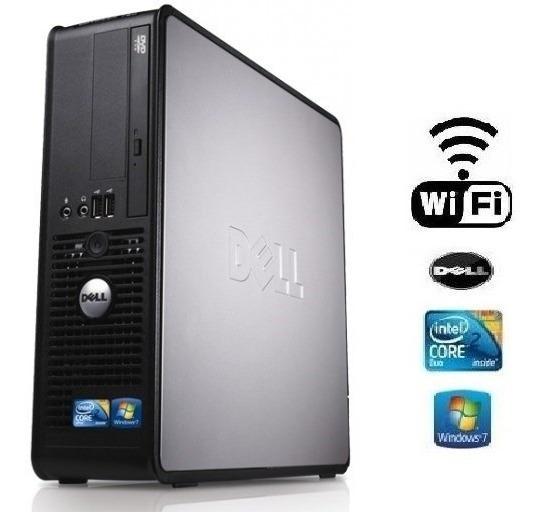 Dell Optplex 780 Mini Core 2 Duo E8500 /4gb Ram/hd 250 Gb