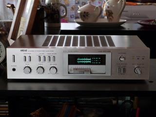 Amplificador Akai Am-u02 Vintage Japones Phono, Line!