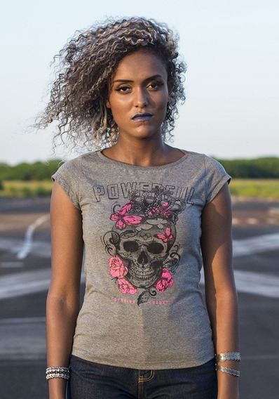 T-shirt Lothbrok Floral Crown Skull