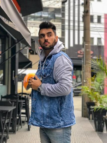 Blusas Moletom Jaqueta Jeans Plus Tamanhos M Ao G2