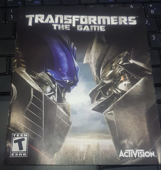 Manual De Instruções Do Jogo Transformers - Ps3 Envio Gratis