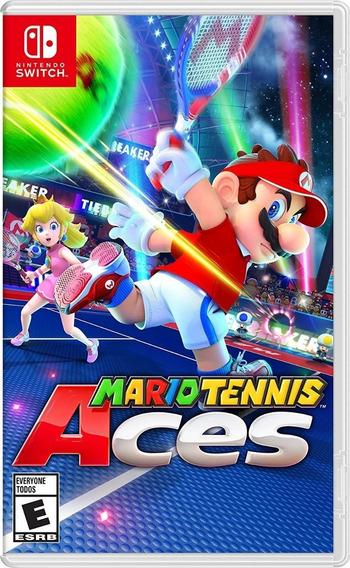 Jogo Mario Tennis Aces Nintendo Switch Mídia Física