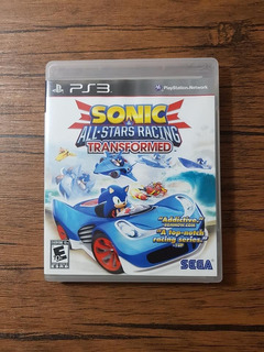 Sonic All Stars Racing Transformed Playstation 3 Ps3 !!
