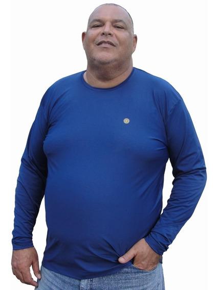Camisa Térmica Proteção Solar Uv+plus Size G2 À G7-até 190kg
