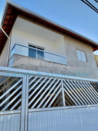 Casa De Condominio No Quietude, Sobreposta Alta Com Sacada - Ca00357 - 68123103