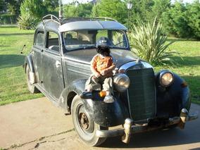 Mercedes Benz 170 Sd Antiguo 1953 Diesel