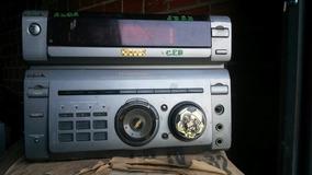 Micro System Sony Fh-w55av (com Defeito Para Tirar Peças)