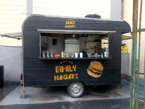 Trailer Lanche Food Truck Semi Novo