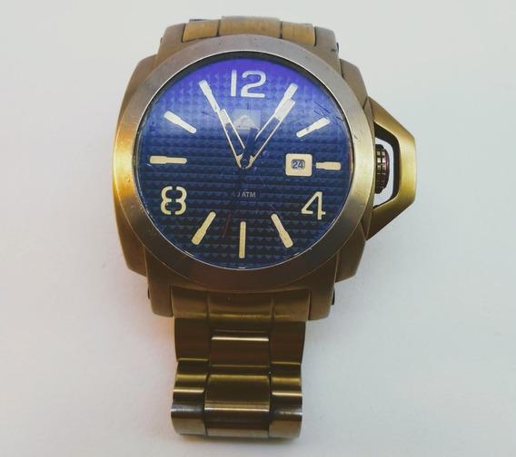 Relógio Quiksilver Lanai Gold Original Funcionando