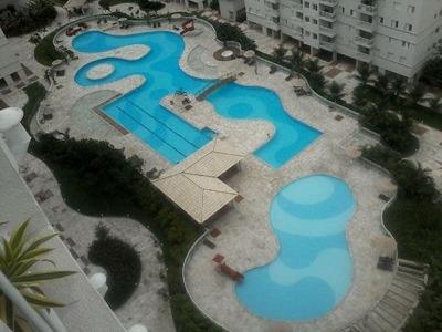 Apartamento Em Marapé, Santos/sp De 62m² 2 Quartos Para Locação R$ 3.500,00/mes - Ap165635