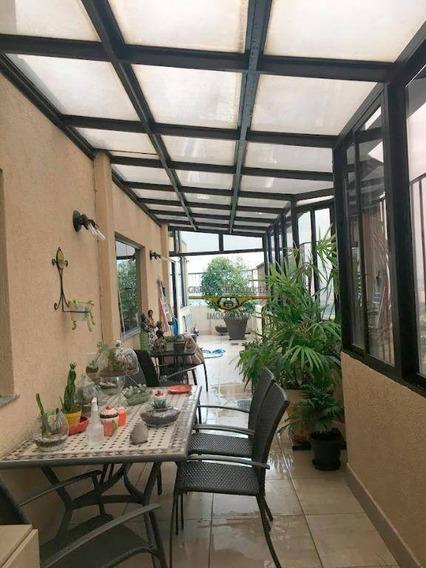 Cobertura Com 3 Dormitórios À Venda, 218 M² Por R$ 1.300.000,00 - Belém - São Paulo/sp - Co0048