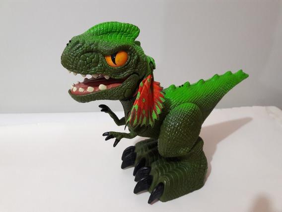 Saurix Dinosaurio Interactivo Mattel Funcioando Leer Descrip
