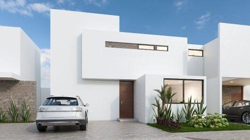 Estrene Casa En Privada , Norte De Merida. 3 Habitaciones