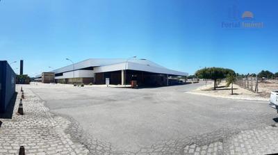 Galpões/depósitos Em Condominio 8.000m², Camara, Aquiraz. - Ga0099