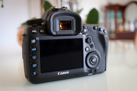 Baixei - Canon Eos 5d Mark Iv Na Caixa 10 Meses De Uso