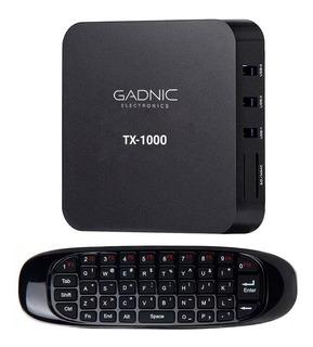 Tv Box + Control Remoto + Teclado Wireless Android Pc 4k