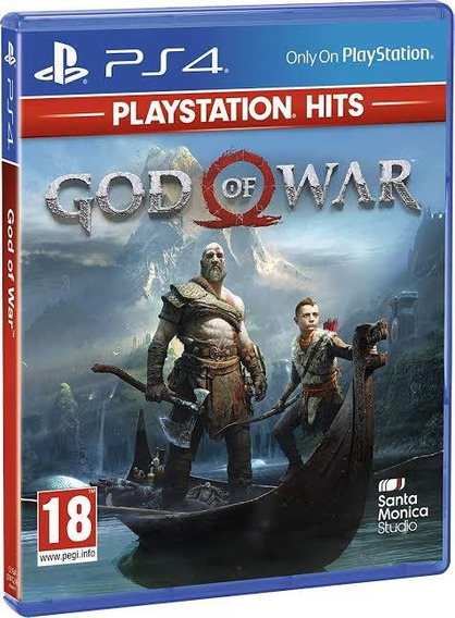 God Of War Ps4 Jogo Midia Fisica Português Deus Da Guerra