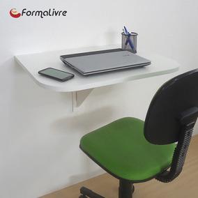Mesa Dobrável De Parede Suspensa Cozinha Escrivaninha Branco