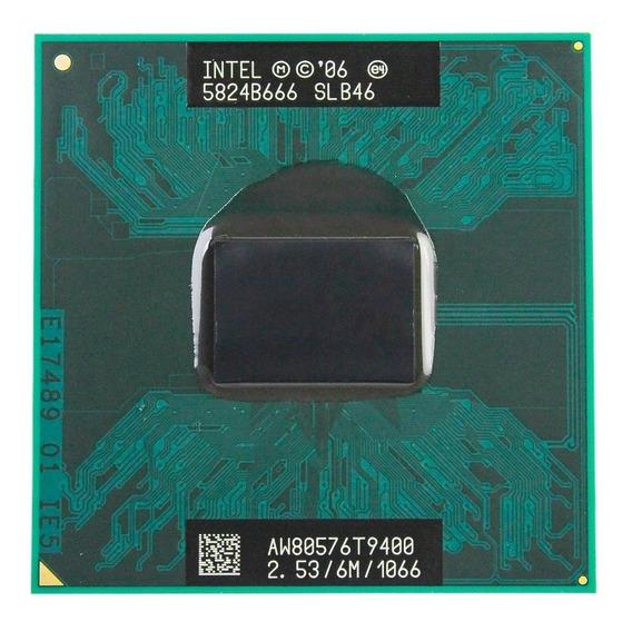 Processador Core2duo T9400 2.53ghz 6mb 1066 Novo Nfe