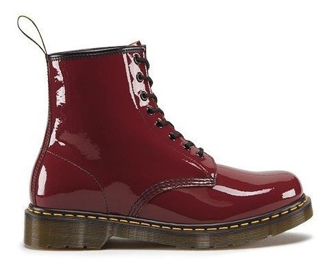 Botas Dr Martens 1460 Patent Cherry Red Charol Bordó ¡nuevos! + ¡envío Gratis! (talle 45 Eur / 11 Usa) Oferta Promoción