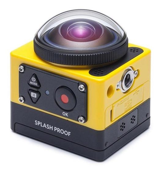 Camara Deportiva Kodak Sp360 Amarillo